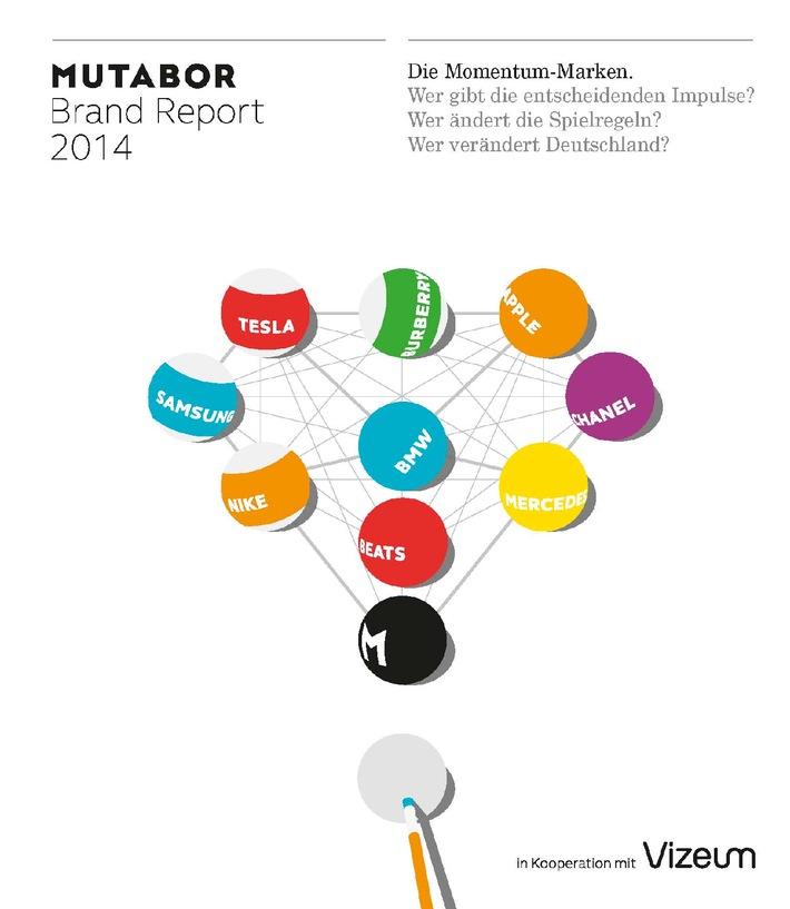 Der MUTABOR Brand Report 2014: Die Momentum Marken 2014