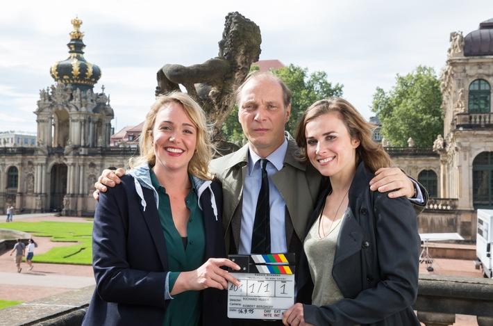 """MDR-Tatort """"Auf einen Schlag"""" (AT) / Einladung zum Pressetermin am Set am 8. Oktober 2015 in Dresden"""