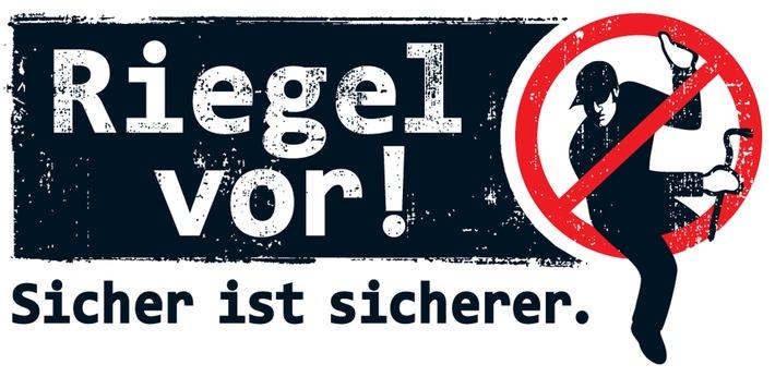 """Symbolbild: Kampagne gegen Wohnungseinbruch: """"Riegel vor!"""""""