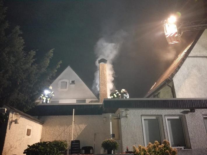 Kaminbrand in Bochum Hordel