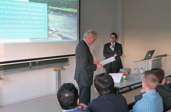Managerversagen - Hochschule in der Pflicht? / Sustainable Marketing and Leadership an der Hochschule Fresenius