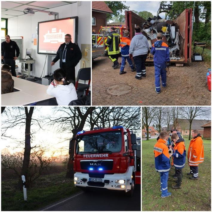 FFW Schiffdorf: Freiwillige Feuerwehr der Gemeinde Schiffdorf blickt auf außergewöhnliches Jahr zurück