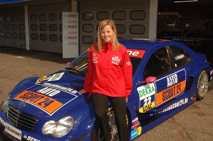 """AutoScout24-Mücke-Motorsport, Susie Stoddart. Die Verwendung dieses Bildes ist für redaktionelle Zwecke honorarfrei. Abdruck bitte unter Quellenangabe: """"obs/AutoScout24 Deutschland GmbH"""""""