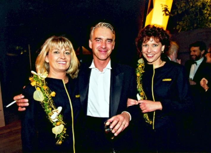 'Deutscher Filmpreis 2002' in Berlin: Fleurop erstmals als Sponsor dabei