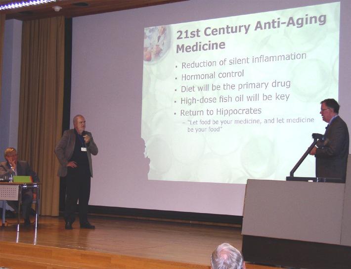 4. Internationaler Anti-Aging-Bodenseekongress: Mit Eiweiss, Fett und Vitaminen das Altern verhindern