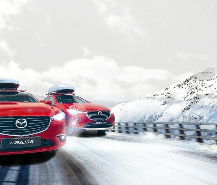 Mit Mazda sicher durch den Winter