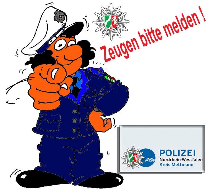 POL-ME: Vandalismus im Stadtgebiet Ratingen - Polizei sucht Zeugen - Ratingen - 1711104