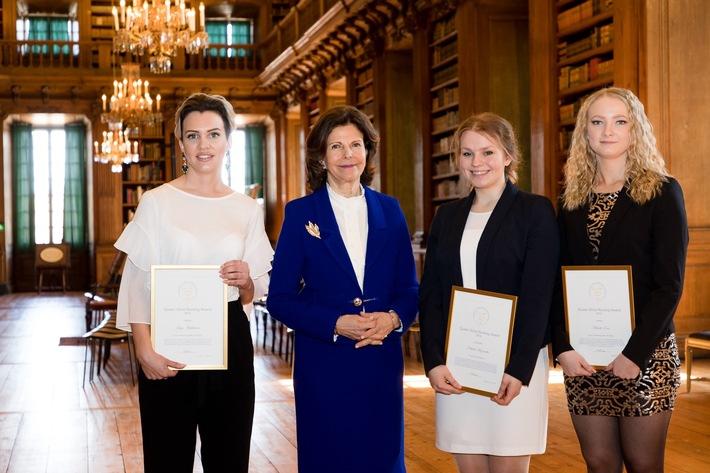 Berit Ehmann (23) aus Backnang gewinnt Queen Silvia Nursing Award 2017