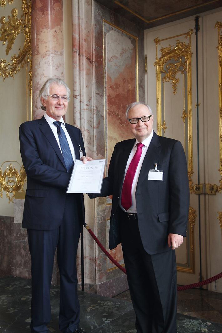 Martin Kannegiesser mit dem ERNST-BLICKLE-PREIS 2012 geehrt