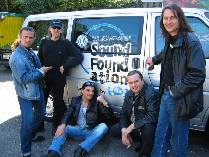 Rocklegenden setzen auf die Volkswagen Sound Foundation - Krokus on tour