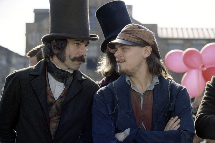 "RTL II zeigt Leonardo DiCaprio in Martin Scorseses ""Gangs of New York"""