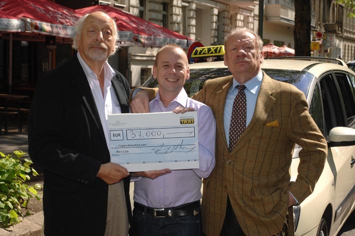 """37.000 Euro im """"Promi-Quiz Taxi"""" erspielten ..."""