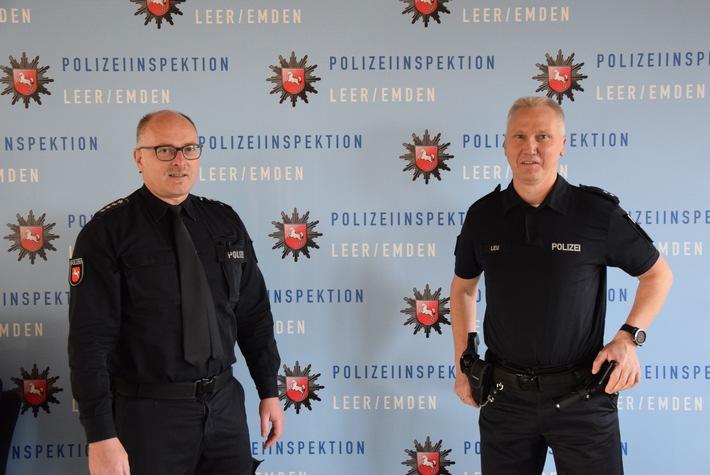 POL-LER: Nachtragsmeldung zum Personalwechsel in der Polizeistation Uplengen