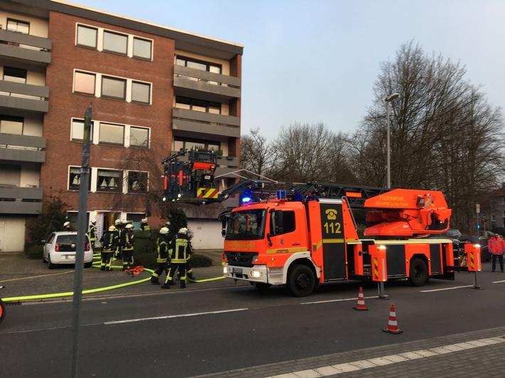 FW-MH: Kellerbrand im Ortsteil Saarn