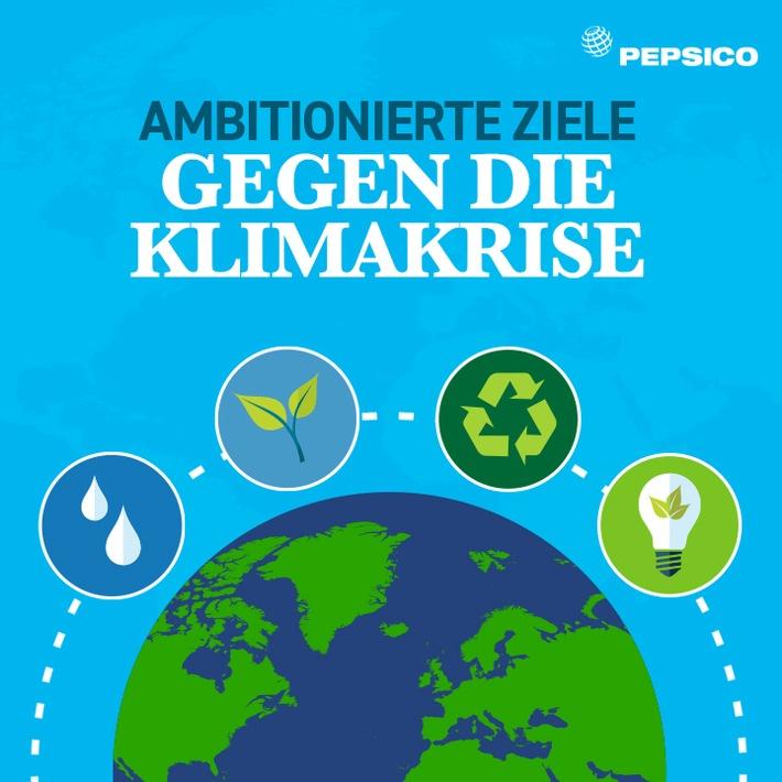 PepsiCo verschärft seine eigenen Klimaziele und verpflichtet sich zu Netto-Null-Emissionen bis 2040.