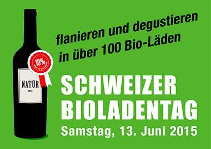 Schweizer Bioladentag 13. Juni