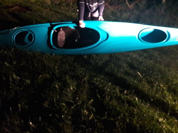 POL-AC: Kayak auf der Rur angeschwemmt - wer kann Hinweise geben?