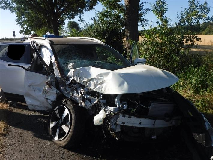 Bild von der Unfallstelle