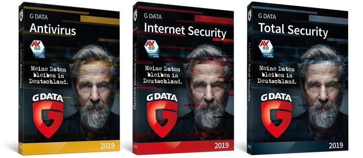 """G DATA stellt die neue Generation 2019 seiner preisgekrönten Sicherheitslösung vor. Weiterer Text über ots und www.presseportal.de/nr/65324 / Die Verwendung dieses Bildes ist für redaktionelle Zwecke honorarfrei. Veröffentlichung bitte unter Quellenangabe: """"obs/G Data Software AG/G DATA"""""""