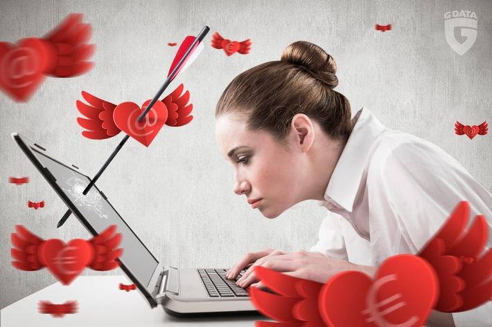 """G DATA warnt vor Cybercrime-Maschen zum Tag der Liebenden und gibt Security-Tipps / Weiterer Text über ots und www.presseportal.de/nr/65324 / Die Verwendung dieses Bildes ist für redaktionelle Zwecke honorarfrei. Veröffentlichung bitte unter Quellenangabe: """"obs/G Data Software AG"""""""