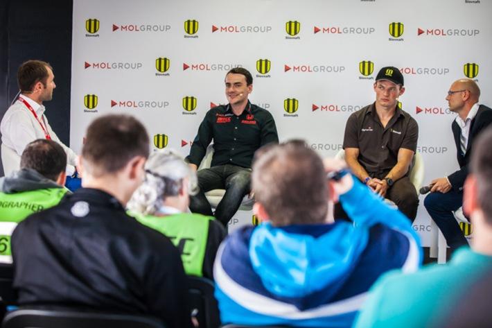 Zwei Helden des Motorsports treffen am Slovakiaring aufeinander