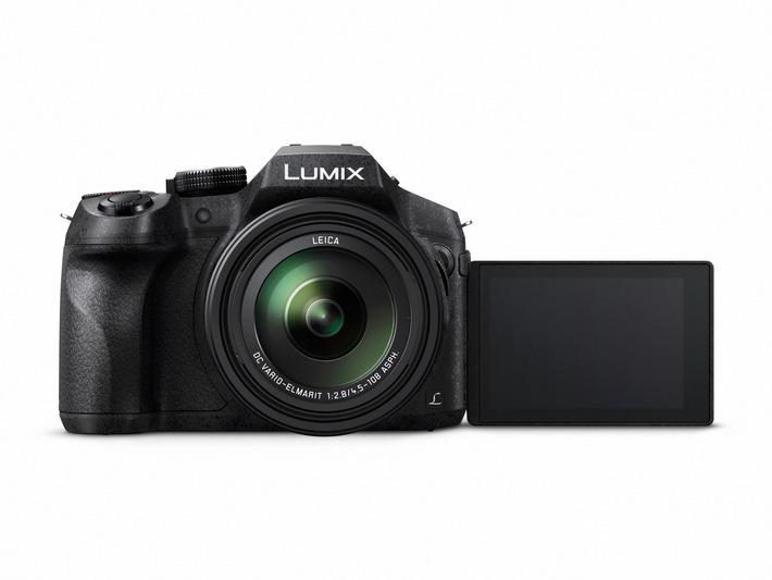 LUMIX FZ300: Robuste Top-Bridge-Kamera mit hochlichtstarkem Zoom sowie 4K-Foto und -Video