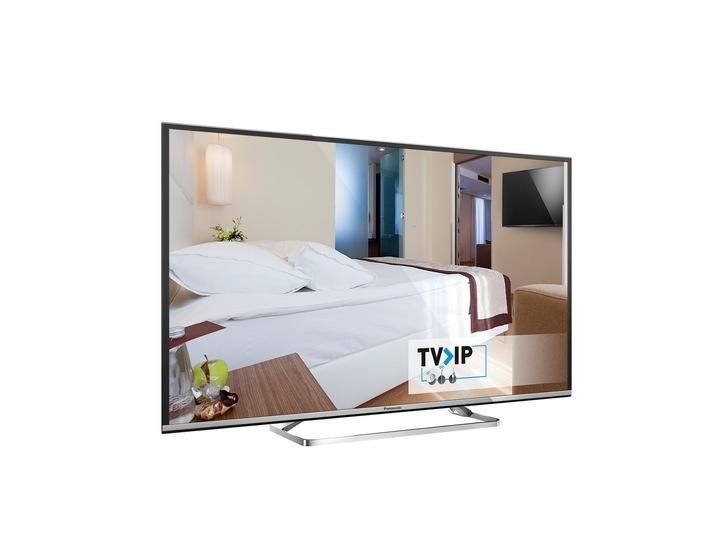 Panasonic auf der ANGA COM 2016 / Auf der Messe zeigt Panasonic smartes Hotel-TV mit TV>IP sowie Ultra HD Premium