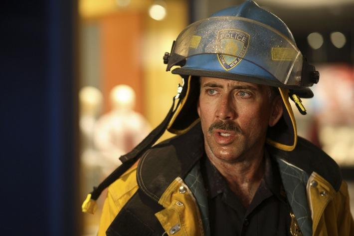 """Das Gesicht der Katastrophe: Nicolas Cage in """"World Trade Center"""" am Sonntag auf ProSieben"""