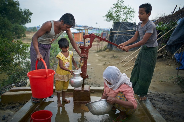 ?In vielen Konflikten sterben mehr Kinder an den Folgen von Krankheiten, die durch verschmutztes Wasser übertragen werden, als durch direkte Gewalt?, so Manuel Fontaine. © UNICEF/UN0152885/Noorani