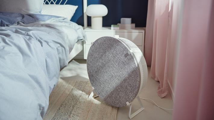 Frischer Wind fürs Zuhause: IKEA launcht smarten Luftreiniger STARKVIND