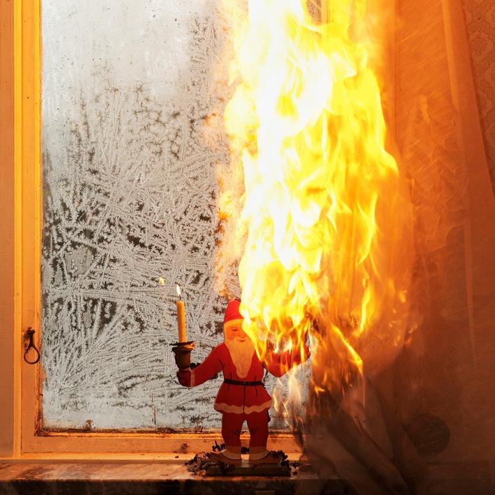 Advent, Advent, mein Vorhang brennt: Wer zahlt den Schaden?