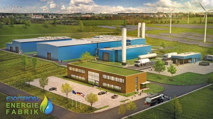 """Weltweit erste dezentrale Energiefabrik geht in Deutschland an den Start / Vorgaben der EU-Klimastrategie """"Fit for 55"""" werden damit bereits jetzt Realität"""
