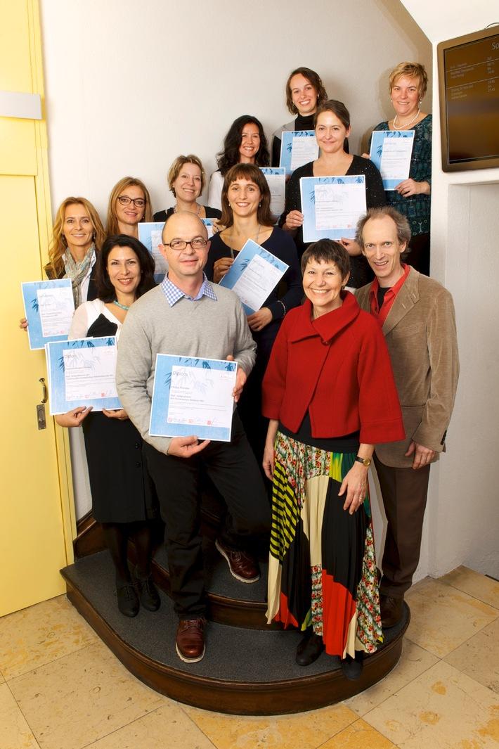 Heilpraktikerschule Luzern: Vierzehn Heilpraktiker ausgezeichnet