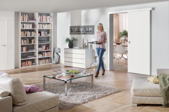 Schiebetüren von Hörmann - Mit platzsparenden Türlösungen Räume optimal nutzen