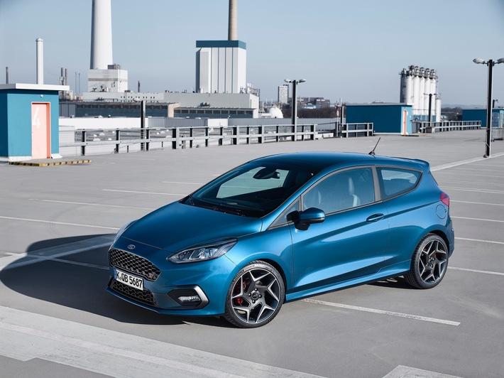 Nachste Generation Ford Fiesta St Steht In Genf Im Mittelpunkt