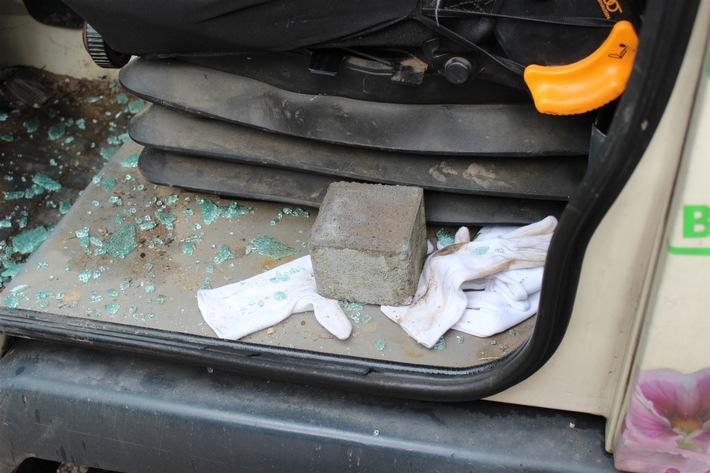 POL-RBK: Leichlingen - Vandalismus und Einbruch am Friedhof