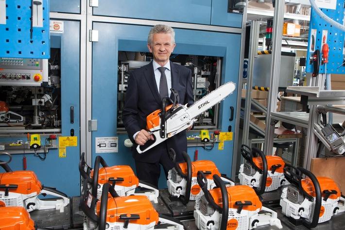 STIHL erzielt mit 3,25 Milliarden Euro neuen Rekordumsatz
