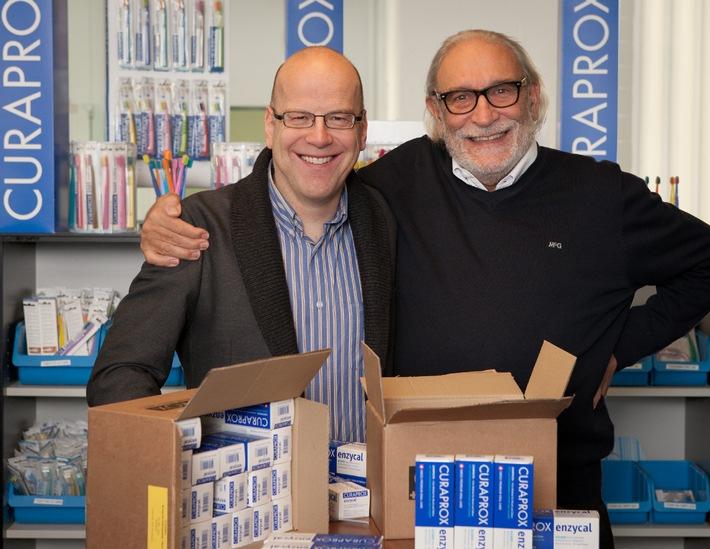 Curaprox produziert Zahnpasta neu in der Schweiz