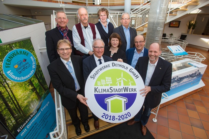"""Deutsche Umwelthilfe zeichnet Stadtwerke Detmold als """"KlimaStadtWerk"""" aus"""