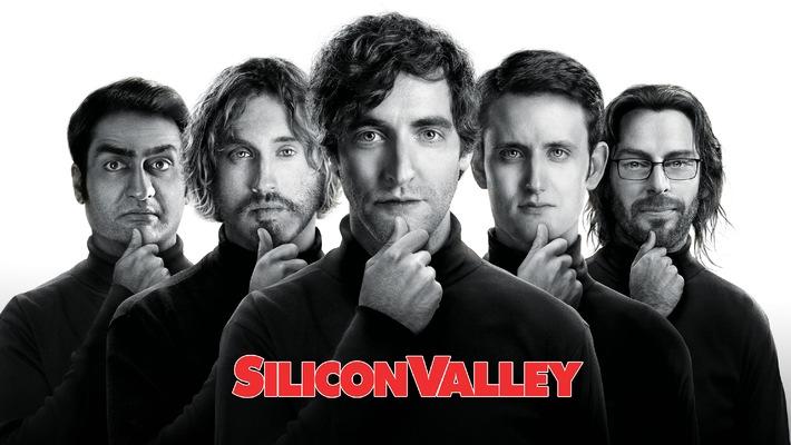 """Vier Computer-Nerds auf dem Weg zum Erfolg: Die brillante HBO-Comedy """"Silicon Valley"""" ab 12. November exklusiv auf Sky"""