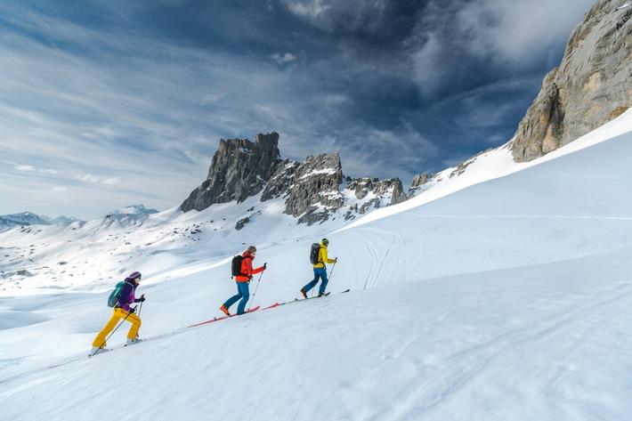 Skitour Montafon Traverse: Im Reich der wilden Felsen - BILD