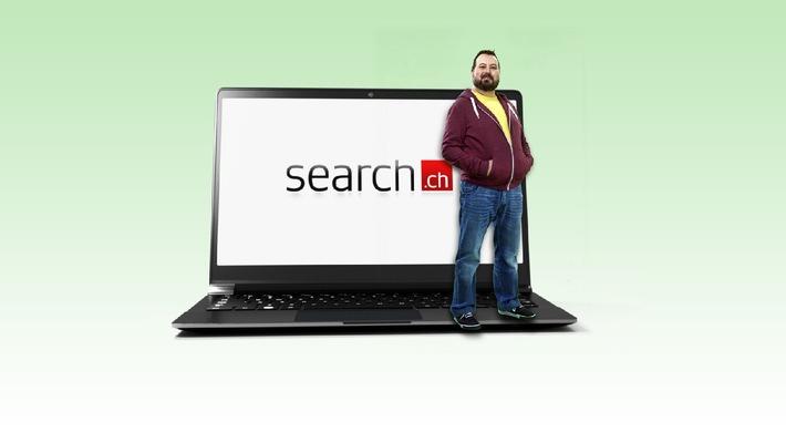 Internet-Nutzungsstudie: search.ch bricht zum dritten Mal Schweizer Rekord