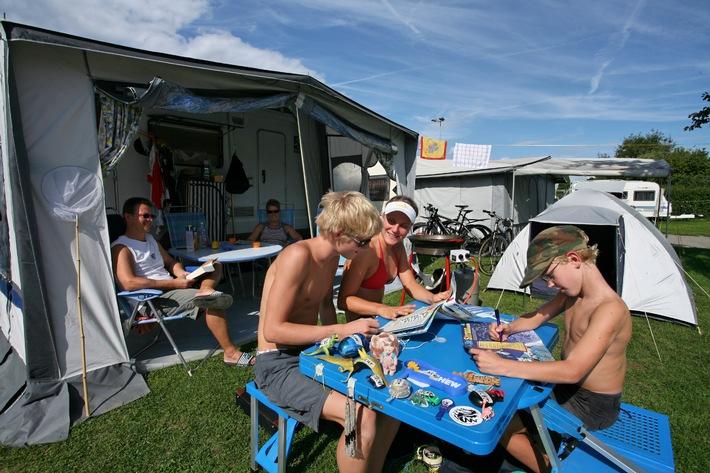 TCS Camping trotzt dem verregneten Sommer