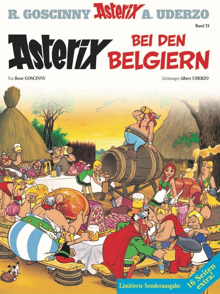 Asterix bei den Belgiern - Die limitierte Sonderausgabe