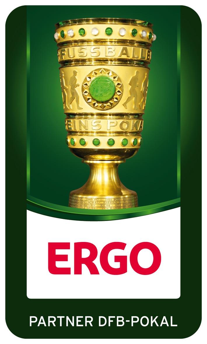 """ERGO ist neuer """"Offizieller Partner des DFB-Pokals"""""""