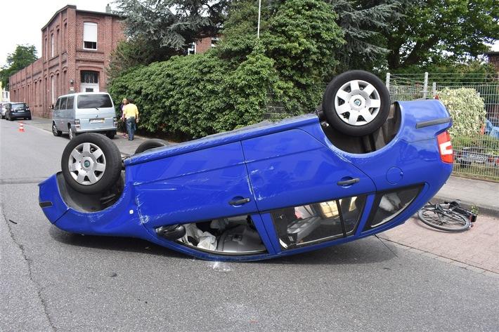 Verkehrsunfall Karstraße