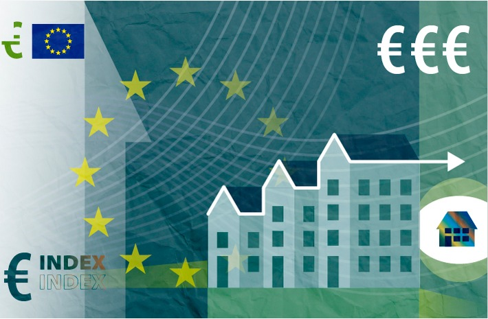 """Hauspreise Weiterer Text über ots und www.presseportal.de/nr/121298 / Die Verwendung dieses Bildes ist für redaktionelle Zwecke honorarfrei. Veröffentlichung bitte unter Quellenangabe: """"obs/EUROSTAT"""""""