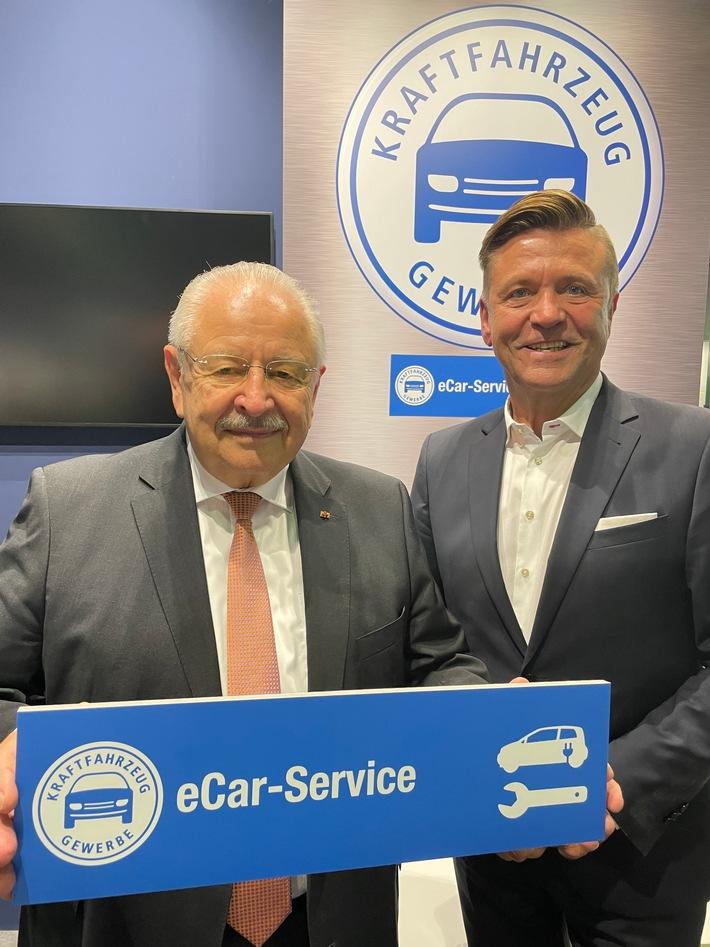 """""""eCar-Service"""": Kfz-Gewerbe ist für E-Mobilität gut aufgestellt (FOTO)"""
