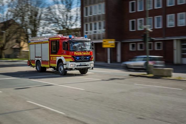 FW-GE: 3 verletzte Personen bei Wohnungsbrand - erheblicher Sachschaden