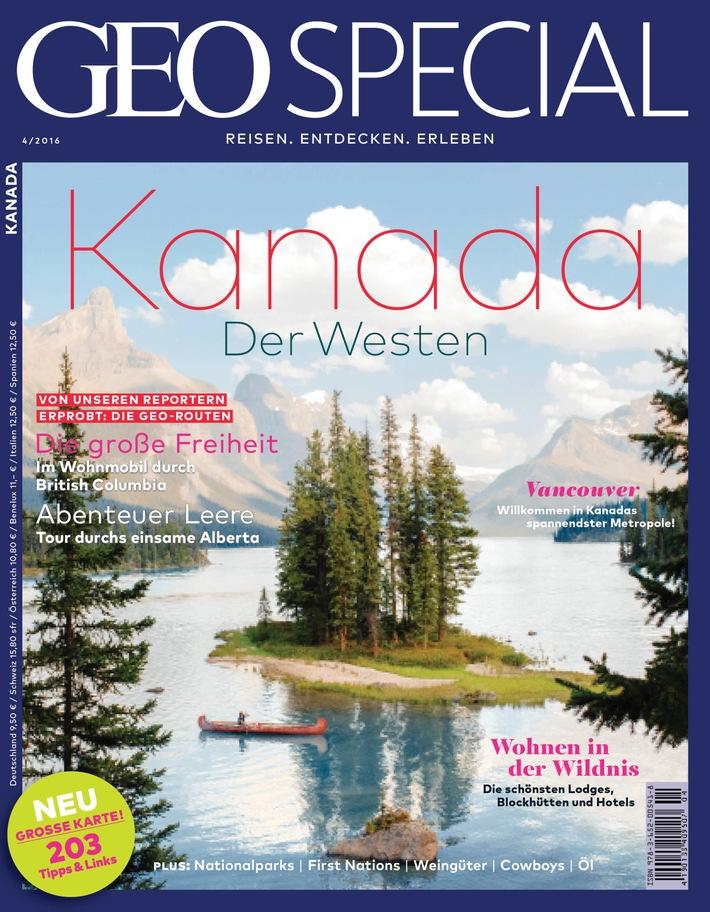 Mit GEO SPECIAL Kanadas Westen entdecken